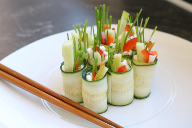 vegetarisches gem se sushi rezept mit bild. Black Bedroom Furniture Sets. Home Design Ideas