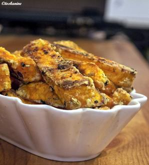Super knusprige Süsskartoffel-Pommes - Rezept - Bild Nr. 2