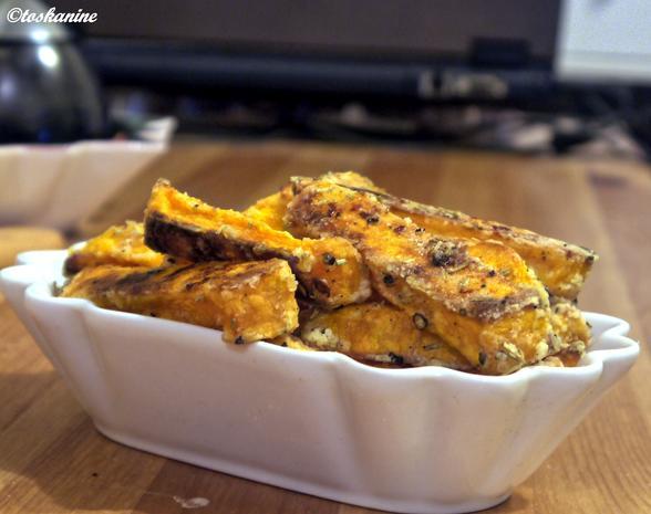 Super knusprige Süsskartoffel-Pommes - Rezept - Bild Nr. 3