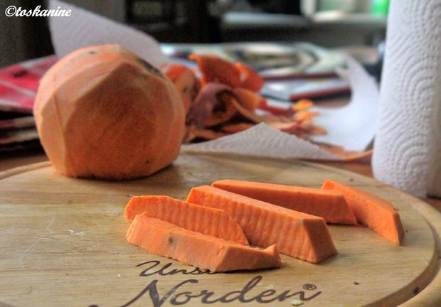 Super knusprige Süsskartoffel-Pommes - Rezept - Bild Nr. 4