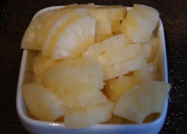 Schweinefilet-Ananas-Wok mit Curry-Basmatireis - Rezept - Bild Nr. 1728
