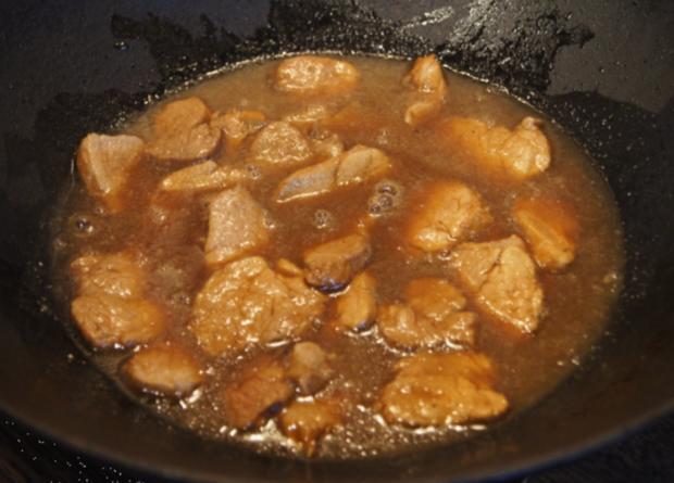 Schweinefilet-Ananas-Wok mit Curry-Basmatireis - Rezept - Bild Nr. 1741