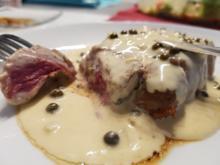 Fleisch / Rind = Filetsteak (englisch gebraten) à la Biggi  - Rezept - Bild Nr. 7