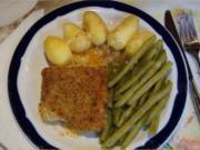 Schlemmer Filet mit grünen Bohnen und Pellkartoffeldrillingen - Rezept - Bild Nr. 2