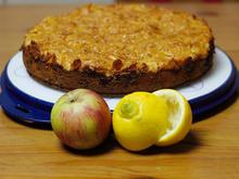 Apfel-Marzipan-Kuchen mit Cornflakes & Mandeln - Rezept - Bild Nr. 1759
