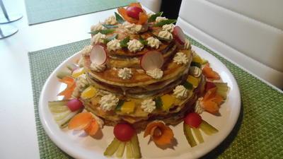 Herzhafte Geburtstags-Torte - Rezept - Bild Nr. 1763