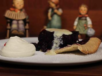 Rezept: Blueberry Pie with Whipped Cream