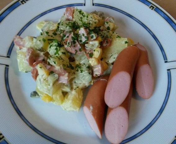 leichter Kartoffelsalat ala Bine - Rezept - Bild Nr. 1853