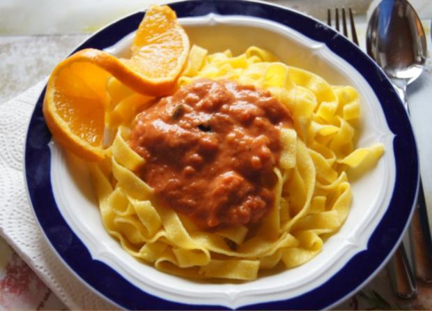 Fettucine-Pasta mit gemischten Salat - Rezept - Bild Nr. 11