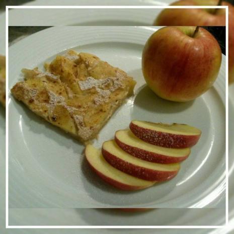 Apfel Pfannkuchen aus dem Ofen - Rezept - Bild Nr. 1872