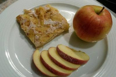 Apfel Pfannkuchen aus dem Ofen - Rezept - Bild Nr. 1873