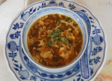 Szechuan pikant-saure Suppe - Rezept - Bild Nr. 1907