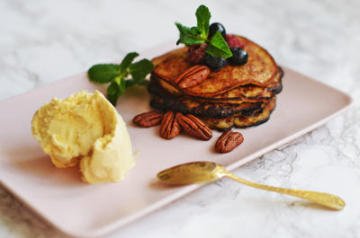 Rezept: Low Carb Banana Pancakes