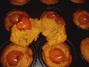 Pesto-Muffins mit Oliven - Rezept - Bild Nr. 1910