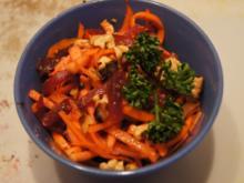 Salat mit Rote Bete, Apfel und Möhren - Rezept - Bild Nr. 2
