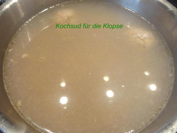 Fleisch:   KÖNIGSBERGER KLOPSE - Rezept - Bild Nr. 1946