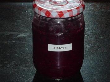 Rotkohl Kimchi - Rezept - Bild Nr. 1960
