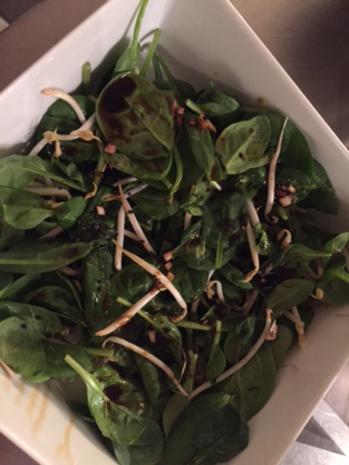 Lachsfilet asiatisch mit Wokgemüse und Wildreis - Rezept - Bild Nr. 4