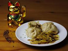 Baozi gefüllt mit Hähnchen & scharfem Chinakohl - Rezept - Bild Nr. 1986