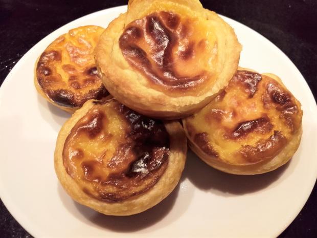 Pasteis De Nata Portugiesische Puddingtortchen Rezept Kochbar De