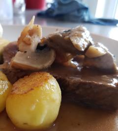 Fleisch / Rind = Rinderbraten ist Sonntagsbraten oder Festagsbraten à la Biggi - Rezept - Bild Nr. 2055