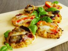 Glutenfreie Blumenkohl-Pizza - Rezept - Bild Nr. 2