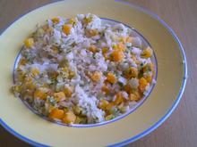 Reis mit Kürbis und Kräutern (vegan) - Rezept - Bild Nr. 2