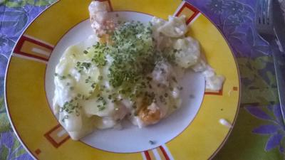 Kartoffelauflauf mit Schnittlauch (vegetarisch) - Rezept - Bild Nr. 2