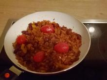 Reis-Tomaten-Pfanne (vegan)  - Rezept - Bild Nr. 2