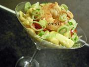 Garnelen Salat in pikanter Curry Sauce - Rezept - Bild Nr. 2081