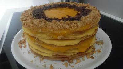 Rezept: Naked Cake mit Mango-Mascarpone-Creme