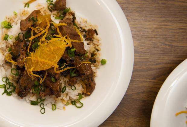 Asiatisches Rindfleisch mit Orange - Rezept - Bild Nr. 2106