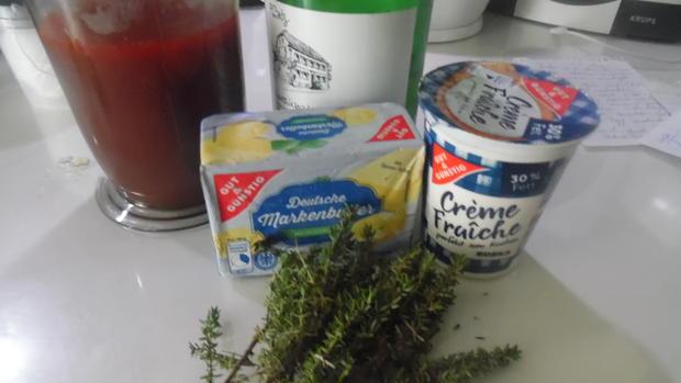 Lammkeule in Honig-Knoblauchsoße mit Paprika-Gemüse - Rezept - Bild Nr. 2126