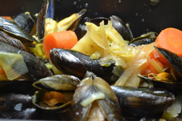 Fisch / Meeresfrüchte = Miesmuscheln heute mal anders eben à la Biggi - Rezept - Bild Nr. 3