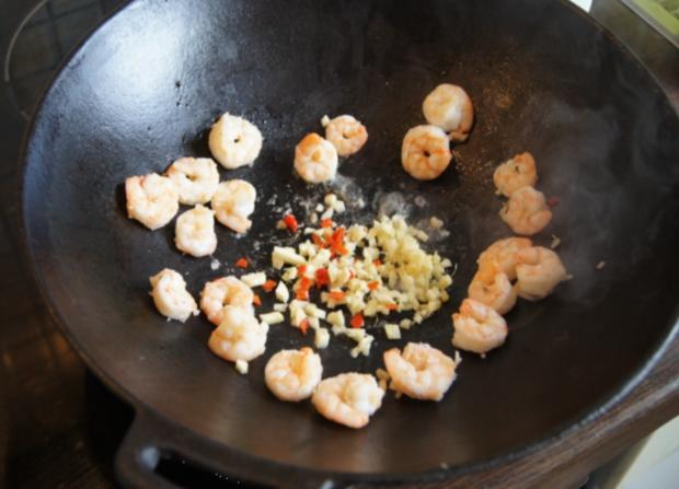 Garnelen-Gemüse-Wok süß-sauer mit Curry Basmati Reis - Rezept - Bild Nr. 2171