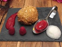 Gebackenes Eis – Himbeerravioli – Zitronenwolke - Rezept - Bild Nr. 2166