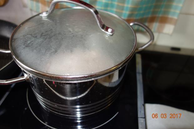 Putenrollbraten mit Kohlsprossen; - Rezept - Bild Nr. 2170