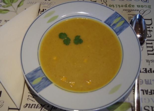 Curry-Kartoffel-Mais-Suppe - Rezept - Bild Nr. 2173