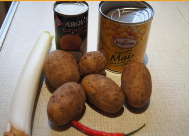 Curry-Kartoffel-Mais-Suppe - Rezept - Bild Nr. 2174