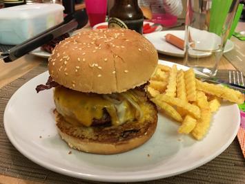 Cheeseburger Homemade - Rezept - Bild Nr. 2167