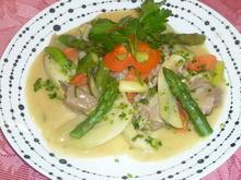 Weisses Lammvoressen mit Gemüse - Rezept - Bild Nr. 2167