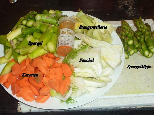 Weisses Lammvoressen mit Gemüse - Rezept - Bild Nr. 2172