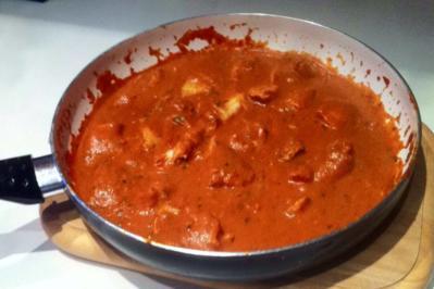 Rezept: Seelachsfilet in Currysoße