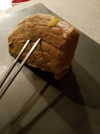 """Fleisch / Rind = Rinderbraten """"zartrosa""""  und rückwärts gegart à la Biggi - Rezept - Bild Nr. 2184"""