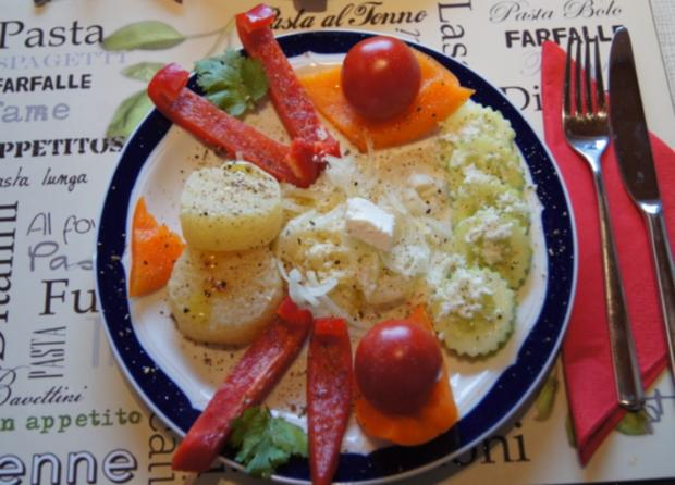 Bunt angemachter Harzer Käse - Rezept - Bild Nr. 2184