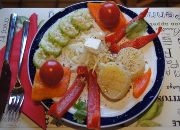 Bunt angemachter Harzer Käse - Rezept - Bild Nr. 2187