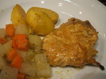 Fleisch: Zwiebelfleisch aus dem Rohr - Rezept - Bild Nr. 2201