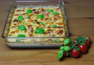 Tomaten-Mozzarella-Hähnchen-überbacken - Rezept - Bild Nr. 2201