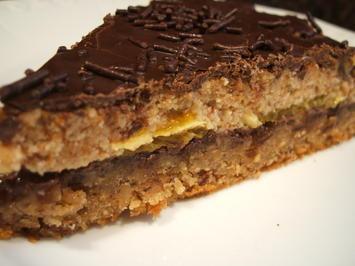 Rezept: Backen: Schoko-Orangen-Torte