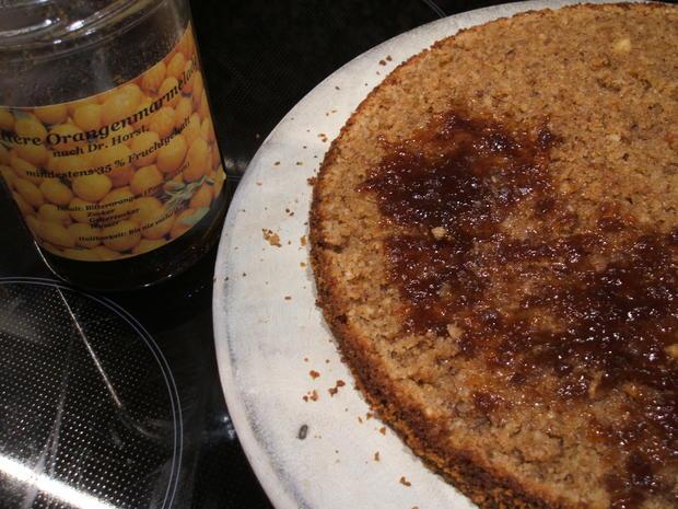 Backen: Schoko-Orangen-Torte - Rezept - Bild Nr. 2221